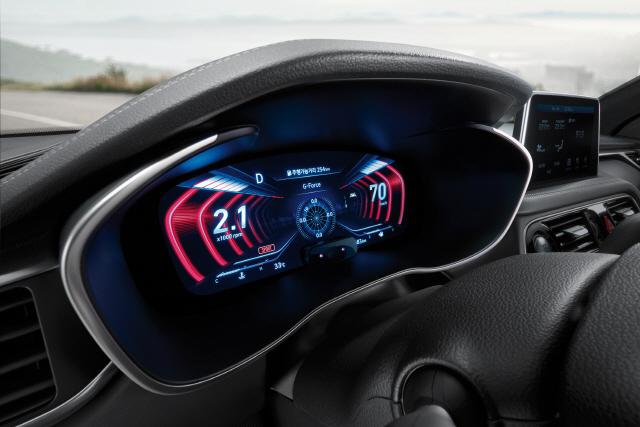 세계 첫 3D 계기판 탑재 '2019년형 G70' 출격