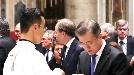 """바티칸의 文대통령 """"지성이면 감천...판문점, 평화의 상징될 것"""""""