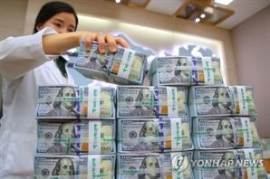 외화예금 3개월 연속 증가…원/달러 환율 하락 영향