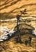 [조상인의 예(藝)-<83>변시지 '절도(絶島)']홀로 웅크려 앉아 태풍 맞는 사내...고독 속에서도 움트는 희망