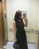 [SE★PIC]서수연 누구? 블랙원피스 자태 뽐내는 '이필모의 그녀'