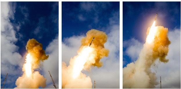 美·日 공동 개발한 신형 요격미사일, 4차 발사실험 성공