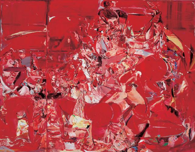 [윤옥영의 해외경매이야기]붉은색·인체 뒤엉킨 추상적 에로티시즘...'680만弗 최고가' 뚫을까