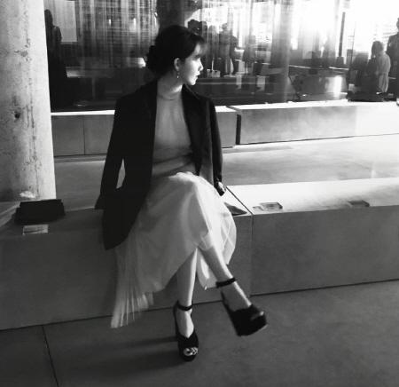 윤아, 가려도 여신미 넘치는 몸매 #융스타그램 '인정'