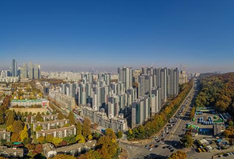 대변신 앞둔 개포주공 저층 아파트