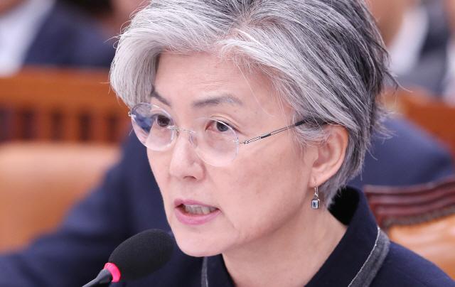 강경화 '북미고위회담 연기, 北이 '일정분주' 이유로 美에 요청'