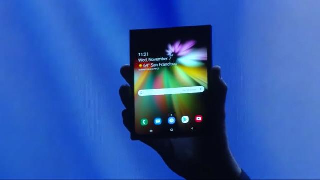 [SDC 2018-삼성 폴더블폰 디스플레이 공개]접었다 펴도 끊김없는 화면…한 손 조작 'One UI'도 선봬