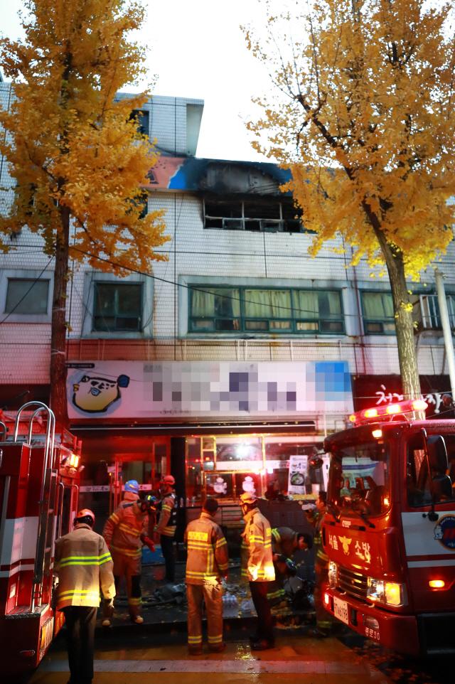 서울 종로 고시원에 화재로 최소 6명 사망…'피해 더 늘 듯'