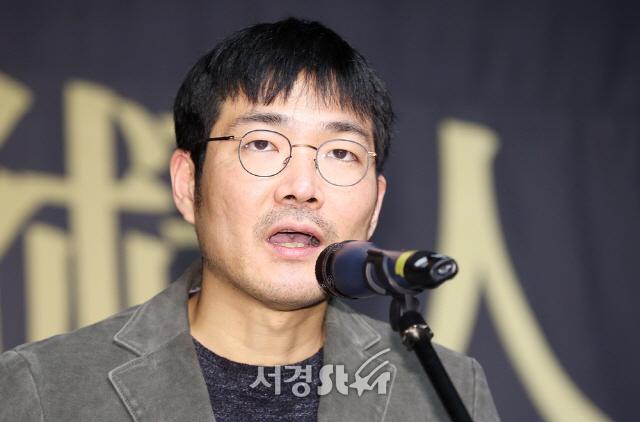 신동석 감독, 힘든 시기 도움을 받아 감사  (아름다운예술인상)