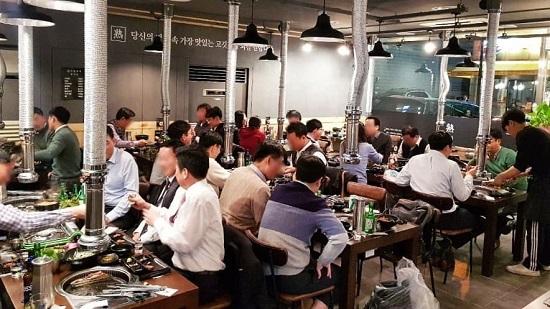 숙달돼지, 삼성직영매장 런칭…오픈 직후 만석 행진