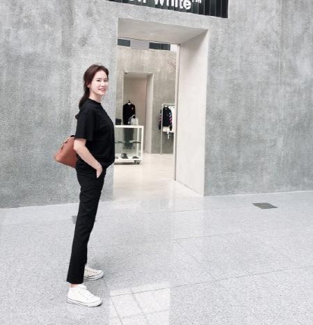 안정환 아내 이혜원, 우월한 8등신 몸매…미스코리아 출신답네