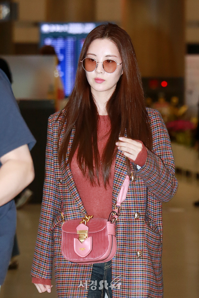 소녀시대 서현, '웜톤으로 따뜻하게' (공항패션)