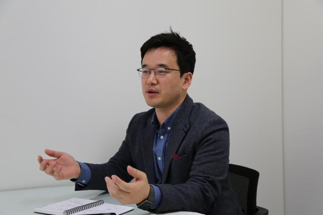 [게임체인저가 뛴다]③정해진 한화시스템 부장 '금융계열사 시작으로 블록체인 서비스 사업 확대'
