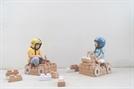 아이브릭, 100% 재활용 가능한 친환경 장난감 '종이블록' 출시