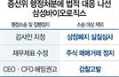 반격에 나선 삼성바이오...행정소송·집행정지 신청