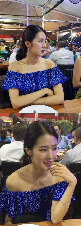 '몸매 1인자' 치어리더 박기량, 음푹 파인 '쇄골美' 대박