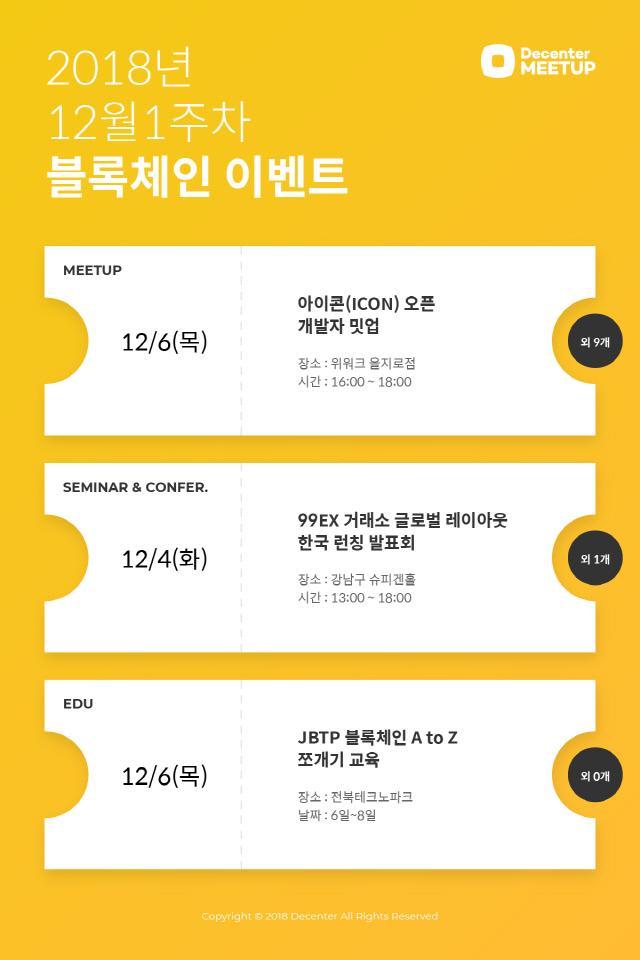 [블록체인이벤트]6일 아이콘 팀 '오픈 개발자 밋업' 개최