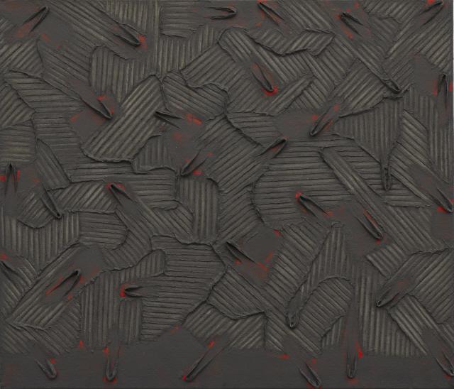 [조상인의 예(藝)-89박서보 '묘법'] 체념한듯 발버둥치는 線..'비움'을 아로새기다
