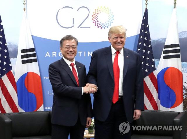 한미 정상회담, 文·트럼프 北 비핵화 논의