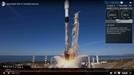 한국 '차세대 소형위성 1호' 탑재한 스페이스X 로켓 발사