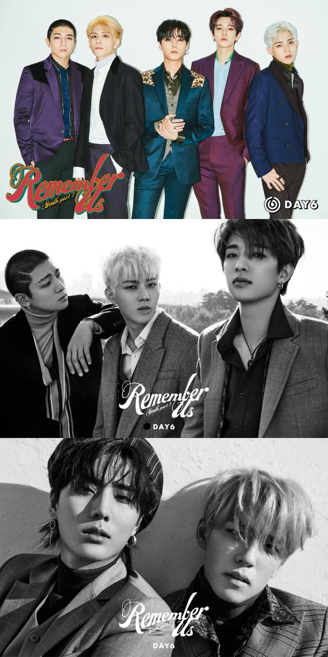 데이식스, 신곡 '단체+유닛' 티저 이미지 공개 '강렬 카리스마'