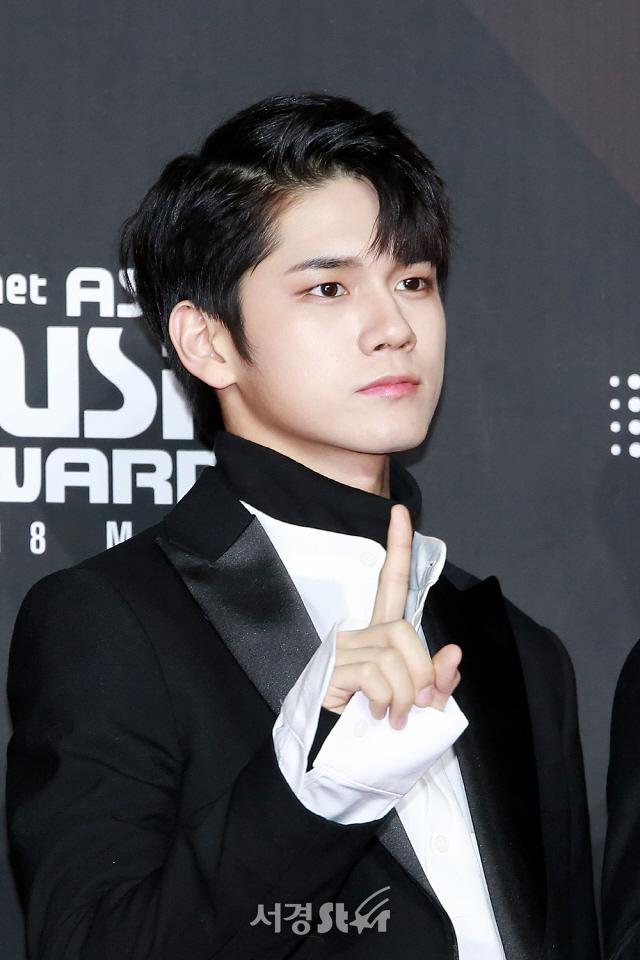 워너원 옹성우, '시그니처 쉼표머리' (2018MAMA)