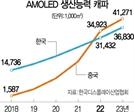 """OLED 기술 훔쳐간 중국…2022년 韓생산능력 추월"""