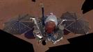 화성 탐사작업하는 '인사이트 랜더'
