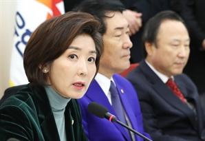 """나경원 """"선거제 개편, 원포인트 개헌과 함께 논의하면 검토"""""""