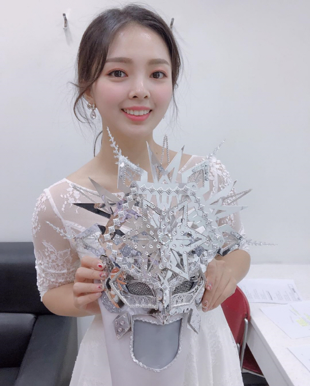 '복면가왕' 첫눈 안다은, '정말 즐기면서 행복하게 노래, 감사'