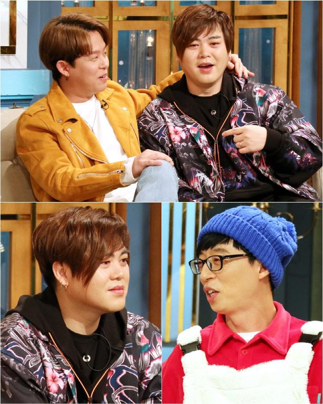 """'해투4' 문희준-토니안, """"H.O.T. 데뷔는 이수만...제 2의 아버지는 유재석"""""""