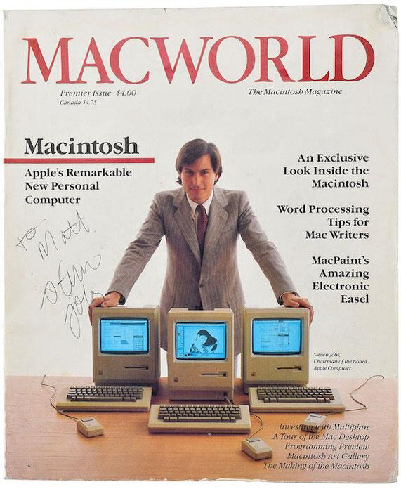 [핫딜] 젊은 시절 잡스 모습 담긴 1984년 2월호 초판...예상가 4배 5,400만원에 낙찰