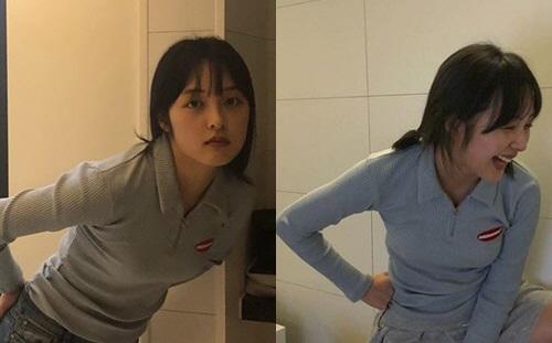 """김보라 몸매가 이렇게 좋았나? 섹시함에 헉 소리!…볼륨감 가득 + 청순 페이스까지 """"예뻐"""""""