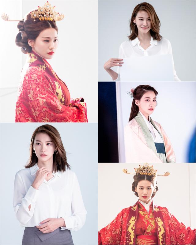 배우 유인영, '황후의 품격'은 이런 것..완성형 미모
