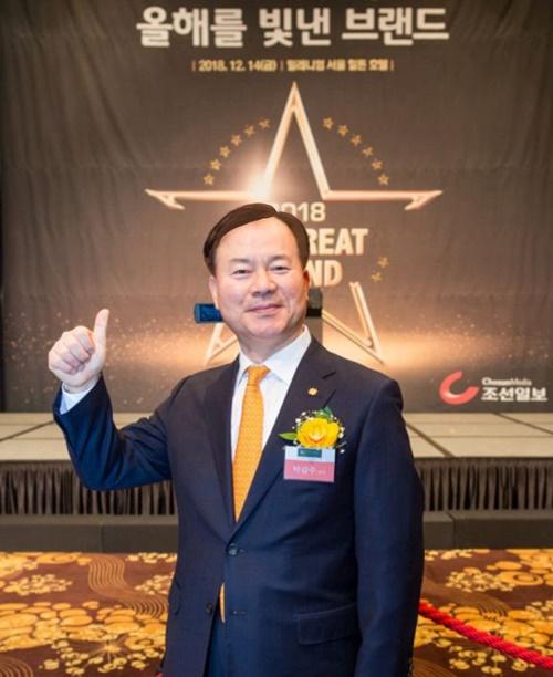 박갑주 교수 최고경영자과정 최우수 교육, 조선일보 브랜드 대상 수상