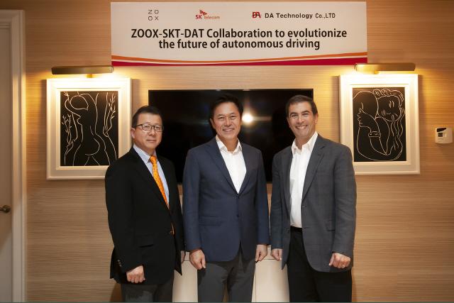 [CES 2019] SKT, 자율주행 로봇택시 '시동'