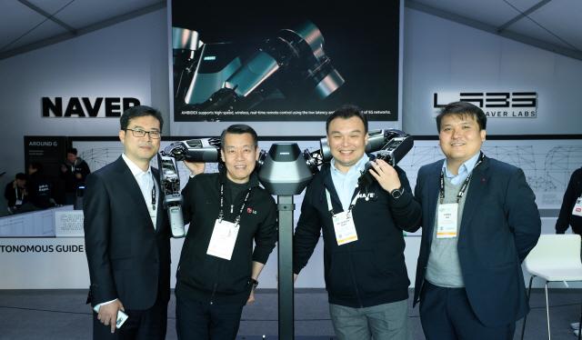 [CES 2019] LG로봇, 네이버 기술로 움직인다