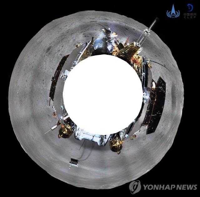 중국 창어 4호, 달 뒤편 360도 파노라마 사진 전송
