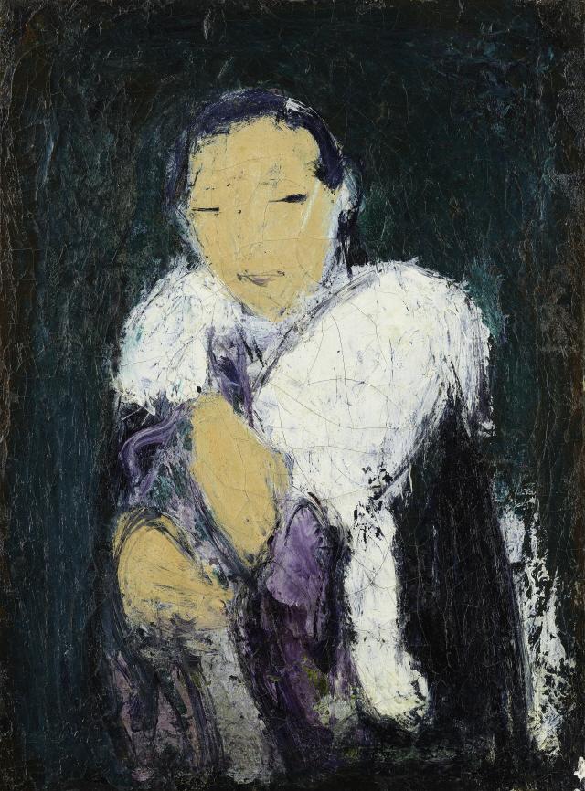 [조상인의 예(藝)-95구본웅 '친구의 초상']붉게 번뜩이는 눈빛...식민지 지식인의 고뇌를 담다