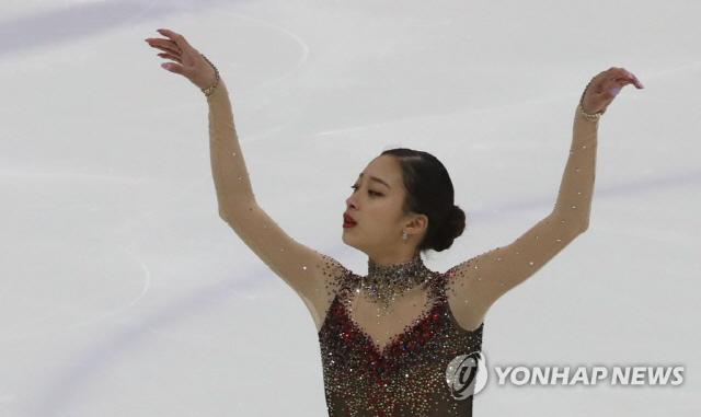 유영, 코리아 피겨 챔피언십 쇼트 67.68로 1위 '제 2의 김연아?'