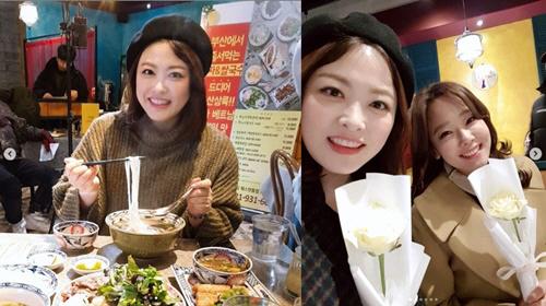 심진화-소유진 '즐겁고 감사한 촬영현장' 꽃 보다 아름다운 그녀들
