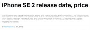 아이폰SE2 홈버튼, 무선충전기능 탑재.. 3월 출시 될 가능성 있다 바뀐 디자인은?