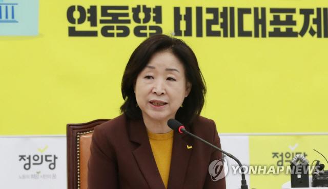 """심상정 """"선거제 개혁, 여야 5당 정치협상 테이블 구성해야"""""""