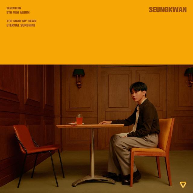 [현장] 세븐틴 승관, '예능 신인상, 운이 따라준 덕분…매력 넘치는 멤버 많아'