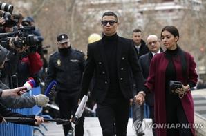 호날두, '탈세 혐의'로 벌금 242억원…징역 23개월 집행유예