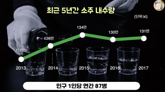 '세계는 초록병홀릭'…국민술 소주에 담긴 '역사 한 잔'