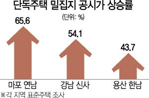마포 연남동 공시가 66%·강남 신사동 54% 급등