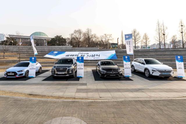 현대차 팰리세이드·벤츠 더 뉴 CLS '2019 올해의 차' 각 2관왕