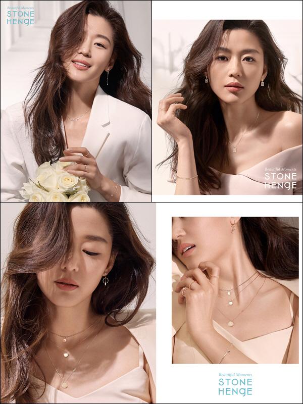 전지현, 숨길 수 없는 섹시美…봄기운 완연한 원피스에 로맨틱한 주얼리까지