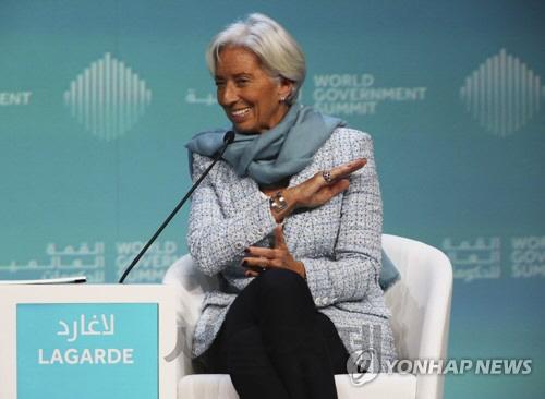 '글로벌 성장에 4대 먹구름' IMF총재 '경제적 스톰' 경고